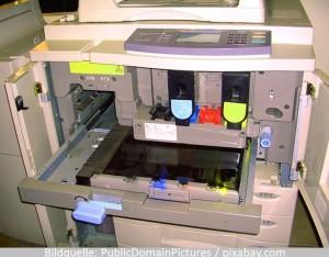 Drucker und Toner